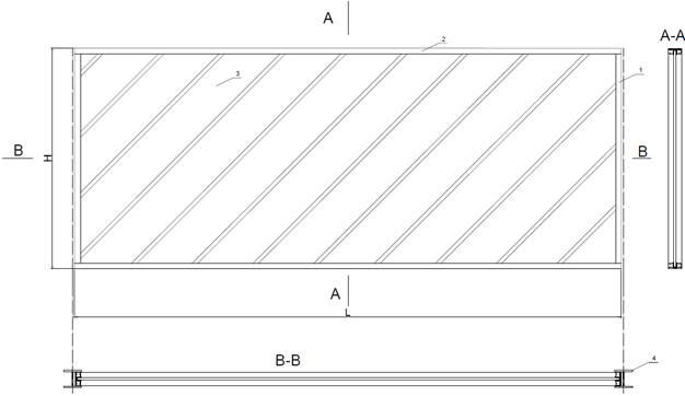 Sestavni deli transparentnih protihrupnih panelov