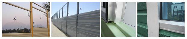 Aluminijumske i transparentne ograde protiv buke