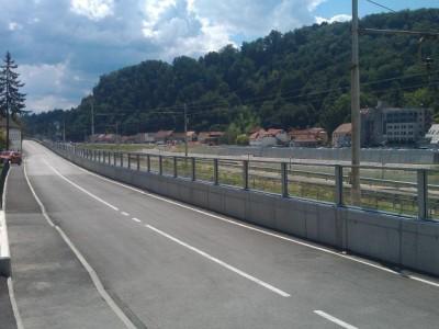 Transparentna ograda protiv buke Krško-1