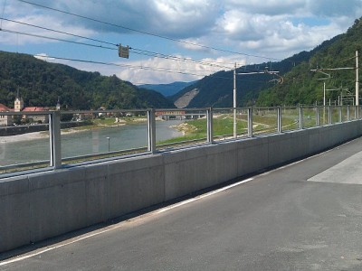 Transparentna ograda protiv buke Krško-3