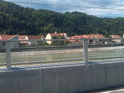 Transparentna ograda protiv buke Krško-2