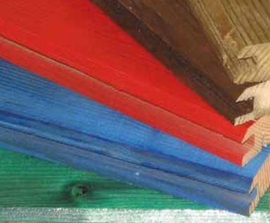 Boje drvenih panela protiv buke