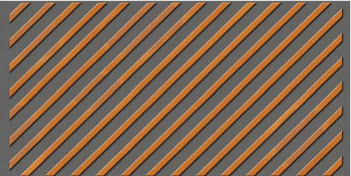 Drveni paneli protiv buke-dijagonalna orijentacija letvi