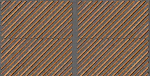 Drveni paneli protiv buke-kombinovanje dijagonala