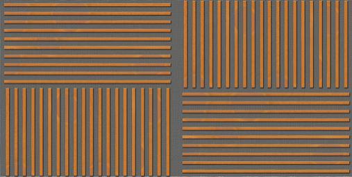Drveni paneli protiv buke-kombinovanje horizontalno i vertikalno