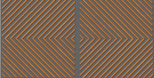 Drveni paneli protiv buke-kombinovanje romb
