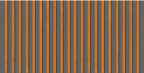 Drveni paneli protiv buke-vertikalna orijentacija letvi