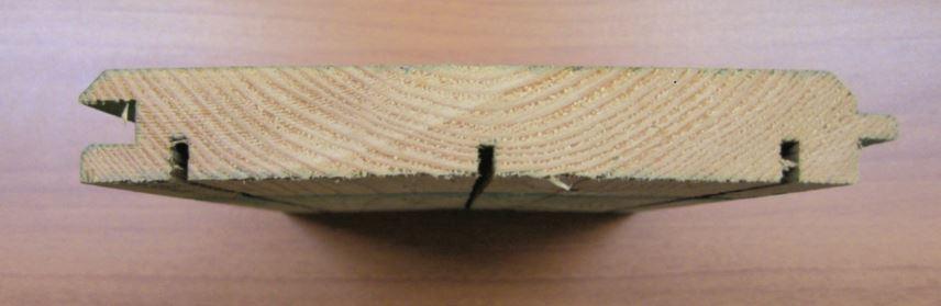 Oplatna daska panela protiv buke pre impregnacije