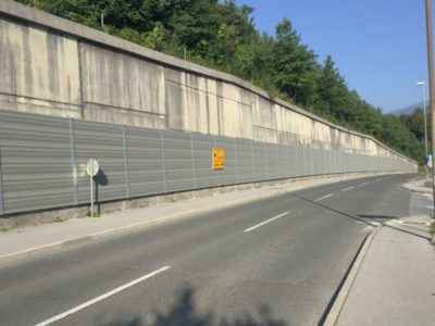 Aluminijumska obloga zida protiv buke Lipce