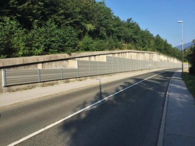 Aluminijumska ograda protiv buke Lipce