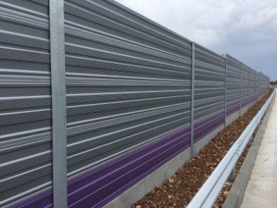 Aluminijumski paneli protiv buke-Vodice
