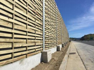 Drvene zvučne barijere Križpolje-Hrvatska