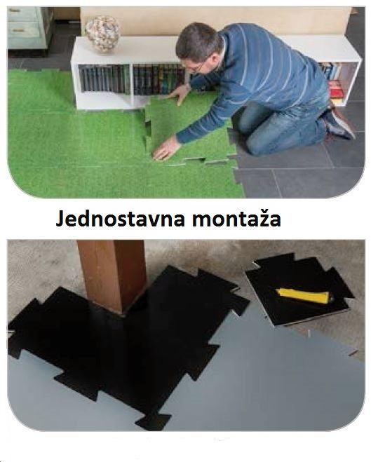 Plastonda Floor Decor-montaža