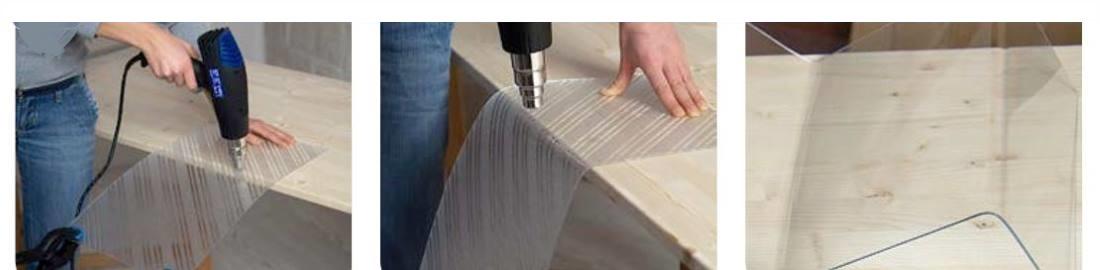 Savijanje polistirenskih ploča Poliver