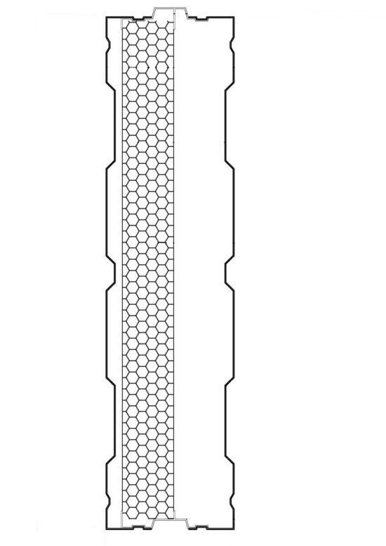Aluminijumski panel protiv buke AL-1S