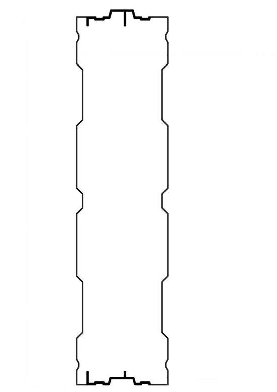 Aluminijumski panel protiv buke AL- 3