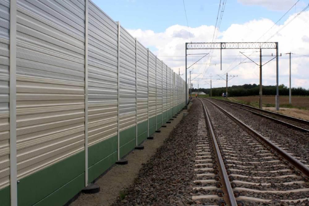 Aluminijumski paneli protiv buke Calvero na železnici
