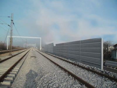 Ograde protiv buke-železnica