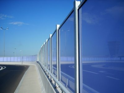 Transparentne ograde protiv buke