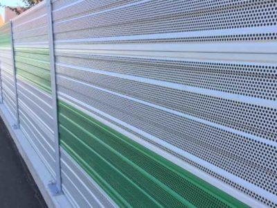 Aluminijumski zvukoupojni paneli za zaštitu od buke AL-1 auto perionica Šenkovec