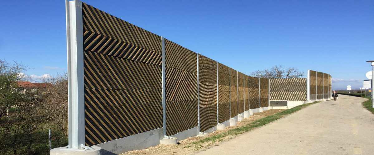 Drveni zidovi za zaštitu od saobraćajne buke Velika Gorica