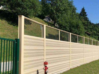 Ograda protiv buke u industriji Borovlje Slovenija