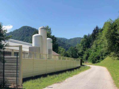 Zaštita od buke u industriji Borovlje Slovenija