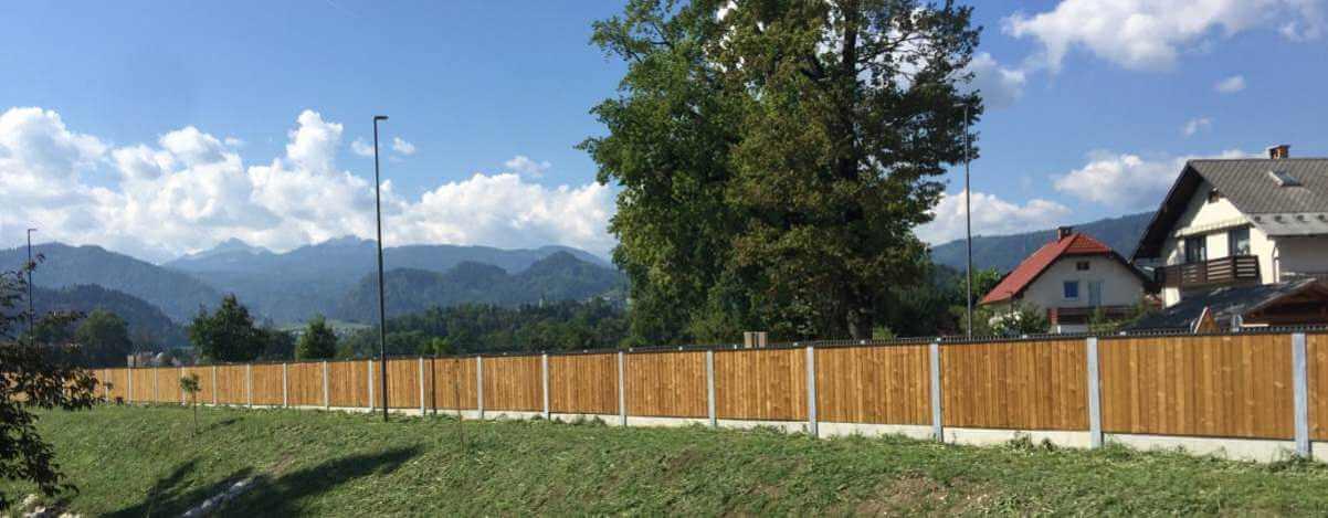 Zaštita od saobraćajne buke Bled Slovenija