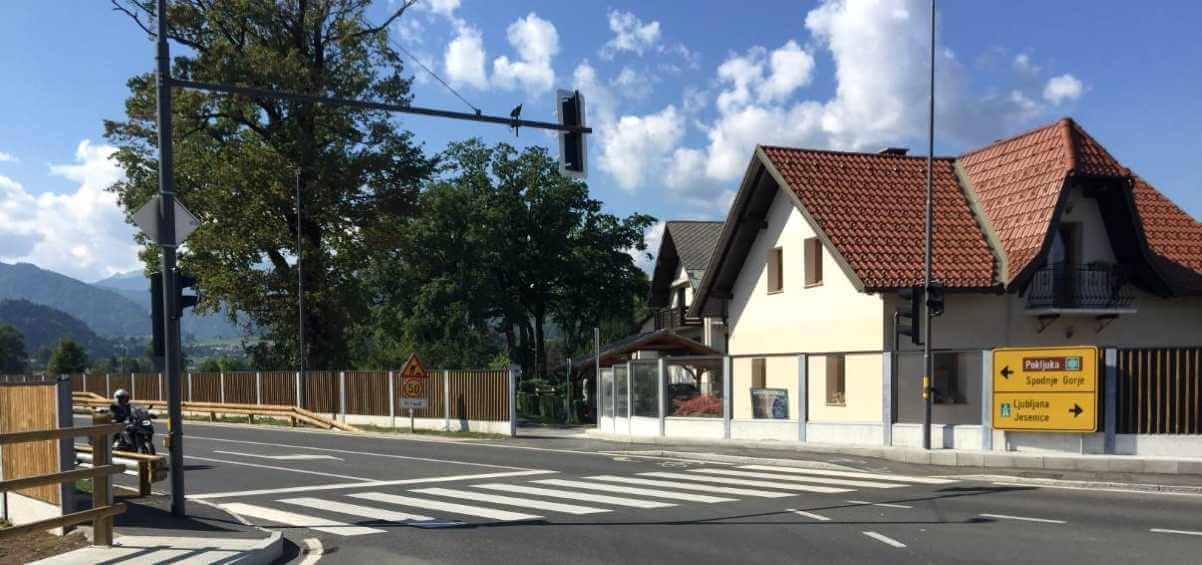 Zaštita od saobraćajne buke Bled