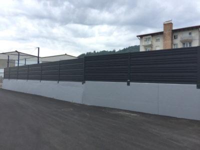 Zid za zaštitu od industrijske buke Dana Mirna